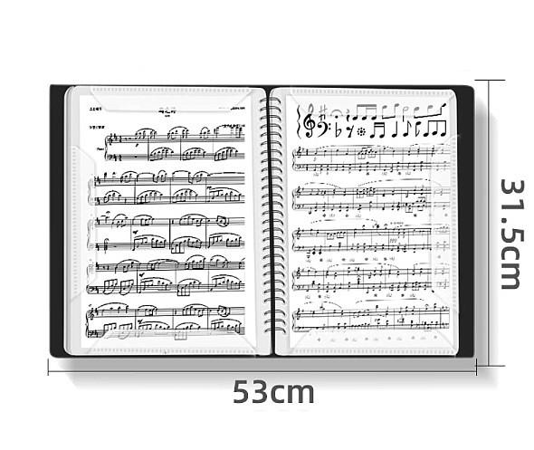 Папка для нот А4, 60 листов.
